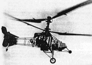 gammal helikopter