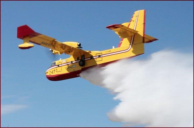 vattenskopande flygplan upphandling sverige